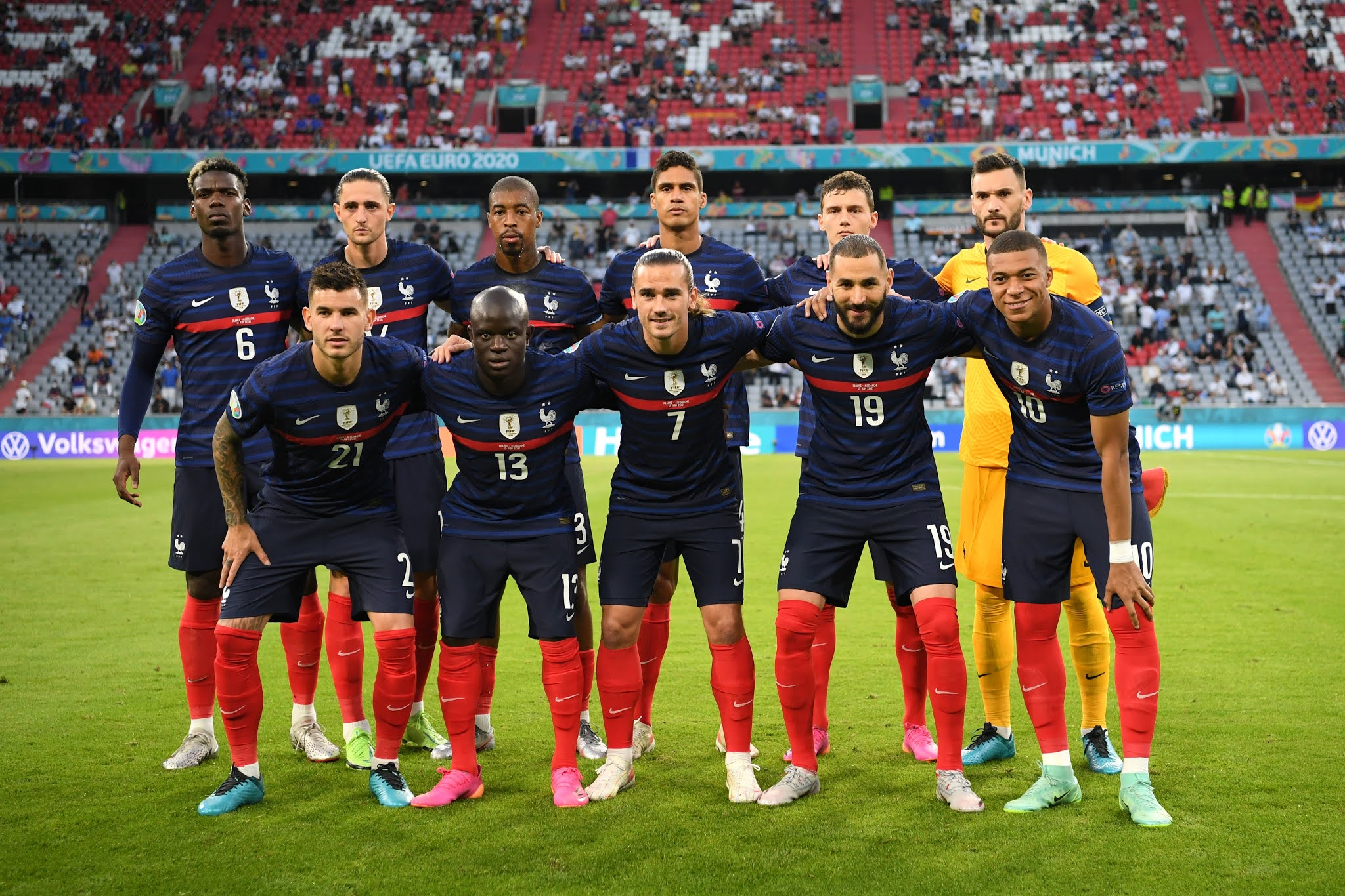 France continue to be the favourites to claim the trophy on 11th of July