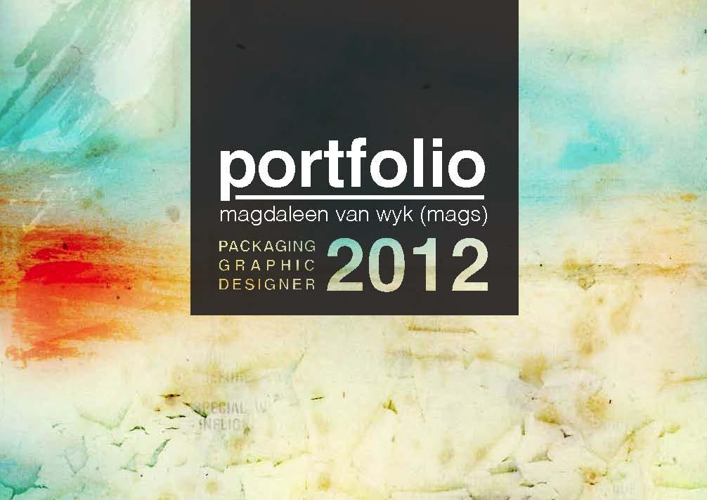 graphic design portfolio #0: mmvanwyk design portfolio Page 01