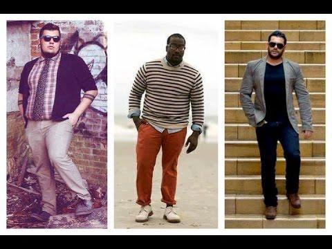 Outfits para hombres gordos