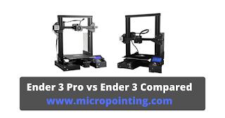 Ender 3 Pro vs Ender 3 Compared image