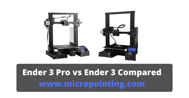 Ender 3 Pro vs Ender 3 Compared [May 2020] : Unbiased Reviews