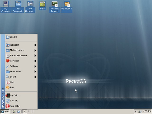 ReactOS 0.4.3 - To δωρεάν και ανοικτού κώδικα Λειτουργικό σύστημα ολόϊδιο με τα Windows!