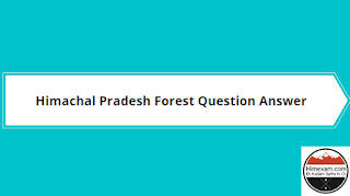 hp gk forest question answer