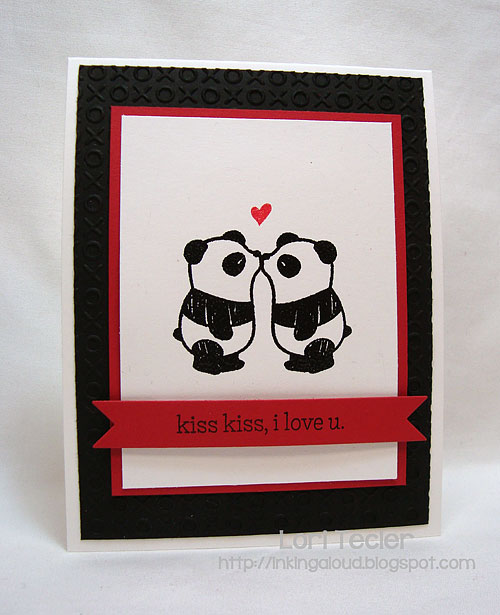 Kiss Kiss I Love You-designed by Lori Tecler-Inking Aloud-stamps from Mama Elephant