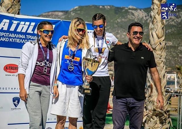 Γρηγόρης Σουβατζόγλου και Ντενίζ Δημάκη οι μεγάλοι πρωταγωνιστές του Πανελληνίου Πρωταθλήματος Τριάθλου 2017