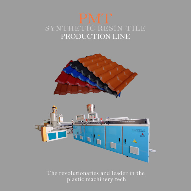 plastic tile making machine: New poster for synthetic resin tile machine whole line