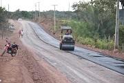 Governo do Maranhão inicia asfaltamento do Jovitão até o povoado Palmeiral.