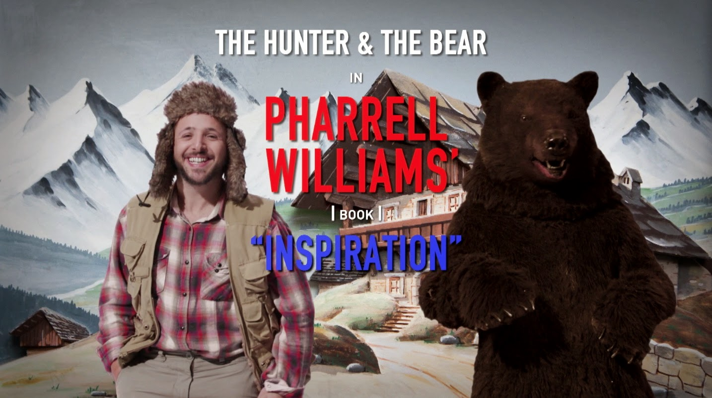 The Hunter and the Bear in Pharrell Williams' book
