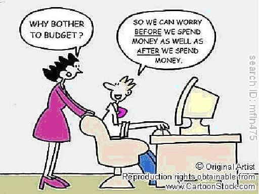 budget budgeting cartoon personal finance budgets process business importance choice money financial comic why bother strip plan expenses resolution forecasts