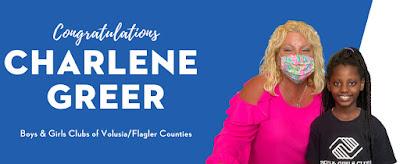 Congratulation Charlene Greer #NASCAR