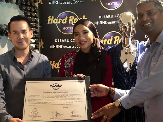 YUNA CONTRIBUTE TO WORLD'S LARGER MEMORABILIA COLLECTION