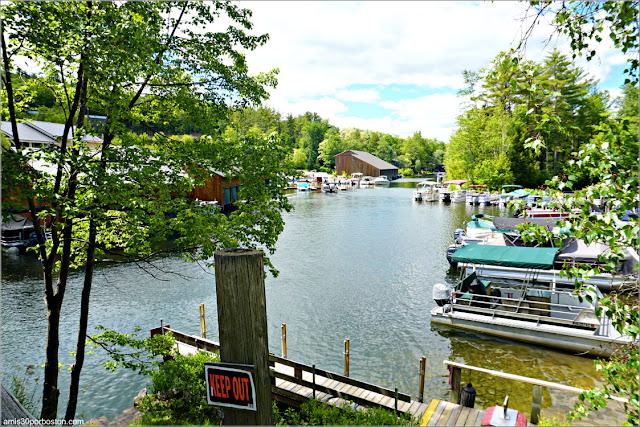 Little Squam Lake en Ashland, New Hampshire