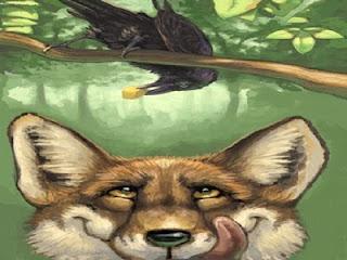 Il corvo e la volpe (Esopo)
