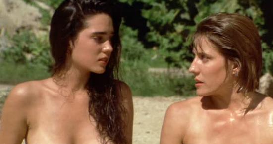 Jennifer Connelly The Hot Spot 1990 movieloversreviews.filminspector.com Debra Cole