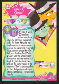 My Little Pony Snips & Snails Series 1 Trading Card