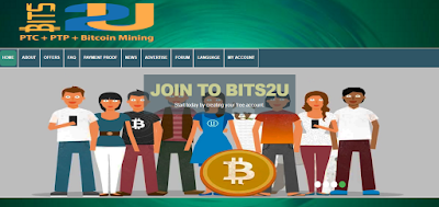 شرح موقع bits2u لربح البيتكوين من الاعلانات و مميزات أخرى