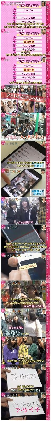 [THEQOO] Japon gençlerinin Kore'ye olan ilgisi netizenleri şaşırttı
