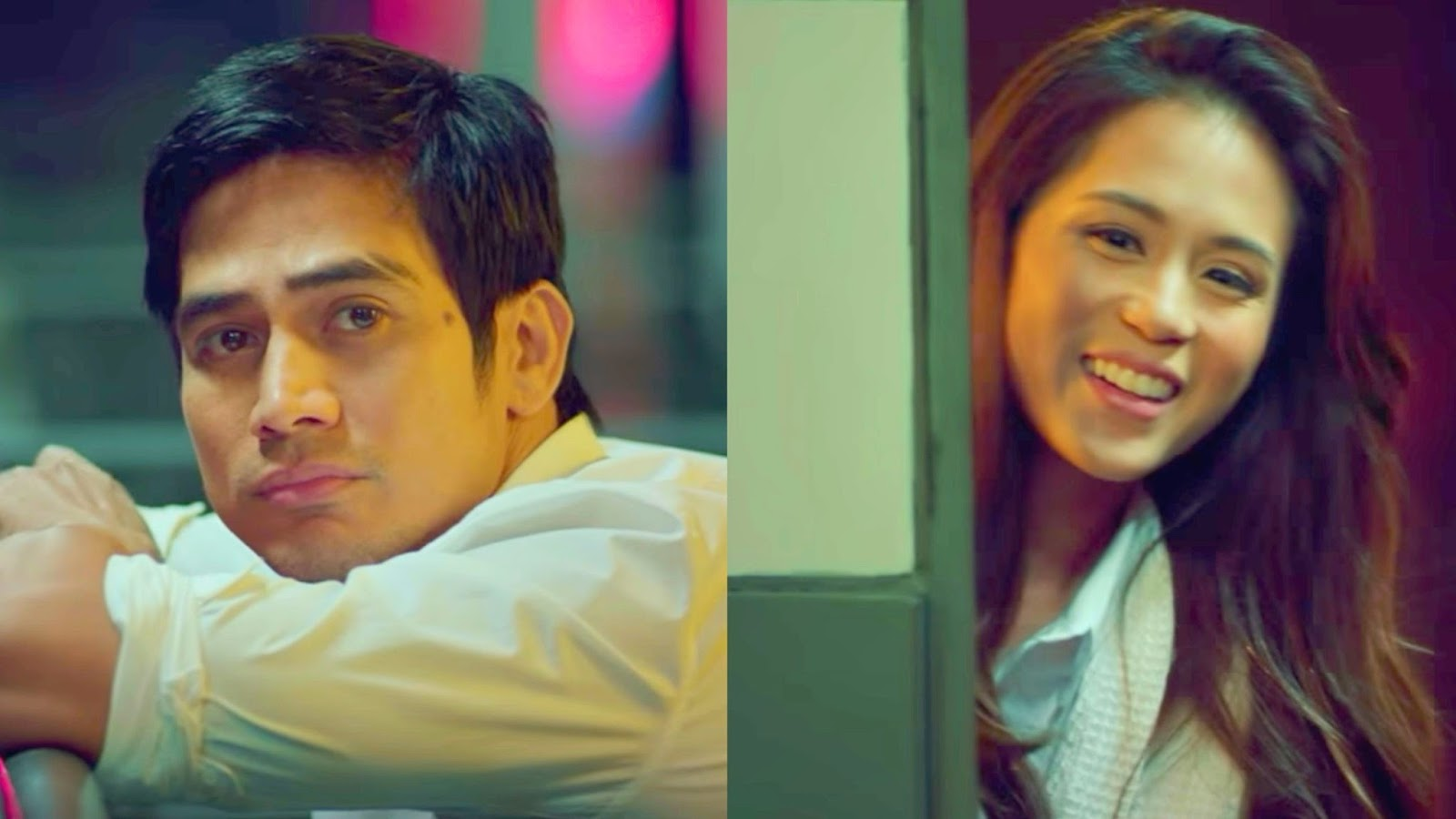 Piolo Pascual as Mark and Toni Gonzaga as Carmina in 'Last Night'