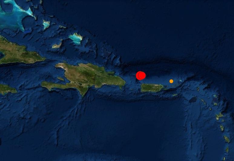Terremoto de 6,0 al noroeste de Puerto Rico