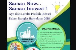 Tata Cara dan Panduan Lomba Harteknas Ke 23 Tahun 2018