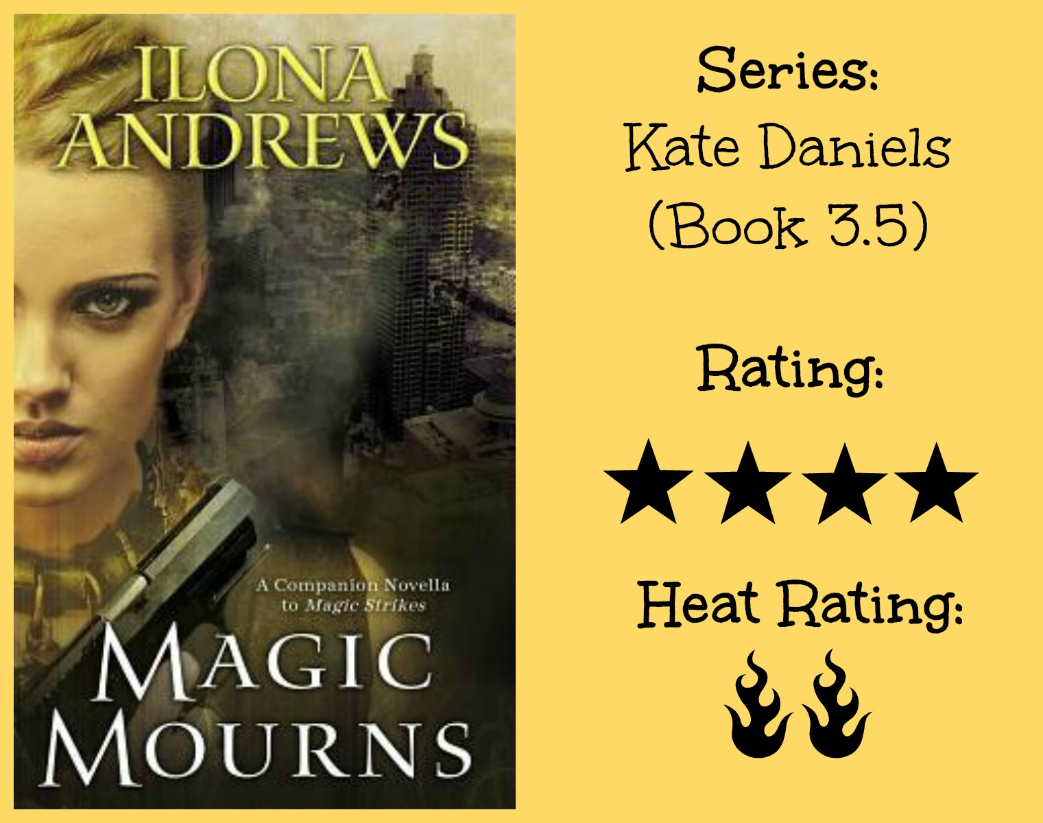 Sunny Buzzy Books Review Magic Mourns By Ilona Andrews border=
