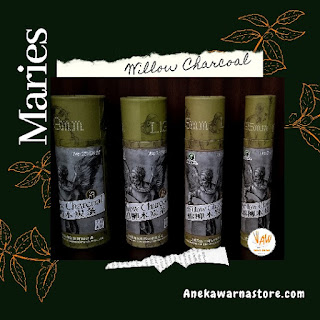 jual maries willow charcoal set