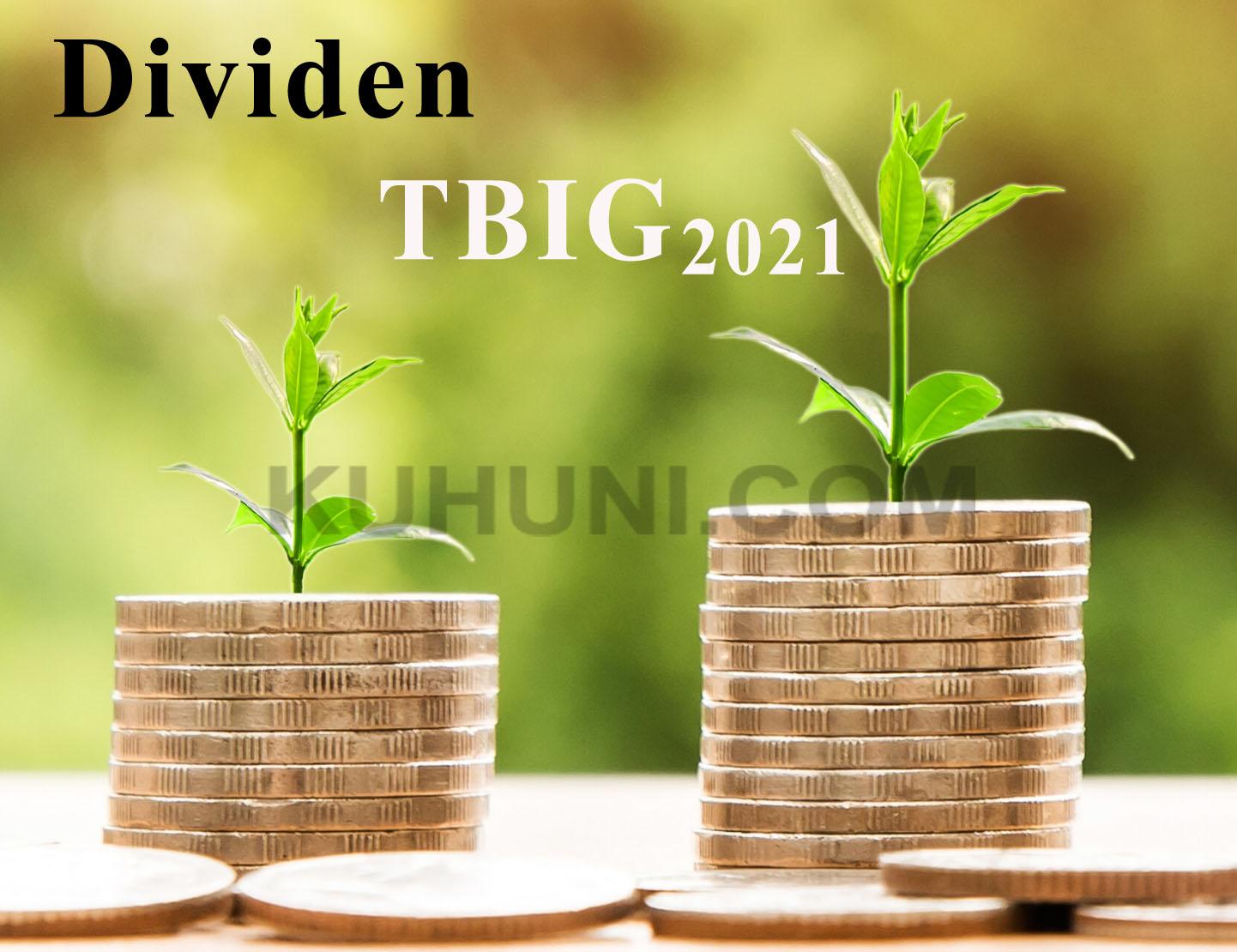 Dividen TBIG 2021