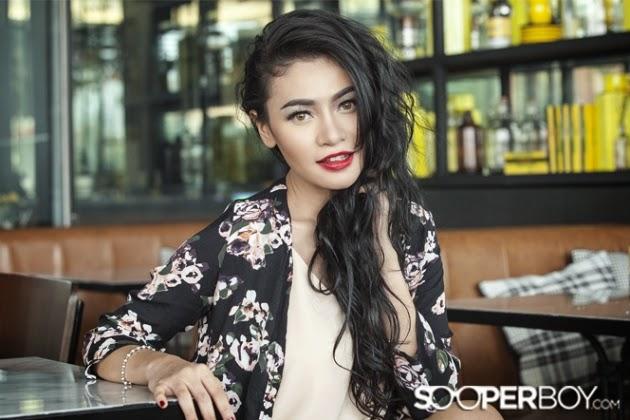 Photoshoot Model Sooperboy Chelline Anastasya