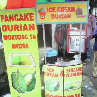 Es Krim Durian Monthong 36 Milik Awenk