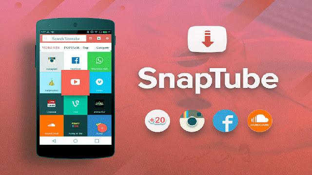 طريقة تنزيل تطبيق snaptube apk النسخة الذهبية بدون اعلانات