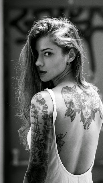 Tattoo Girl iPhone 6 Plus Wallpapers Free Download
