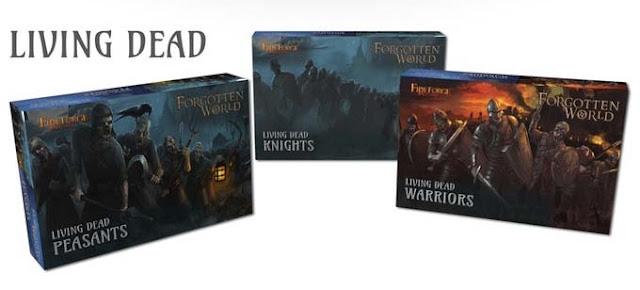 Forgotten World: i box dei 3 kit