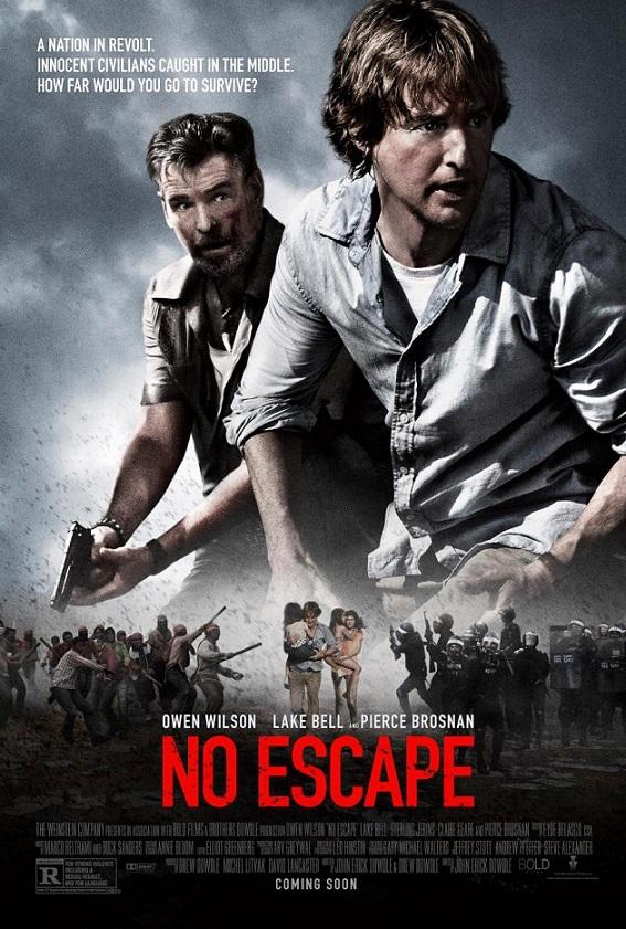 فیلم دوبله: گریز ناپذیر (2015) No Escape