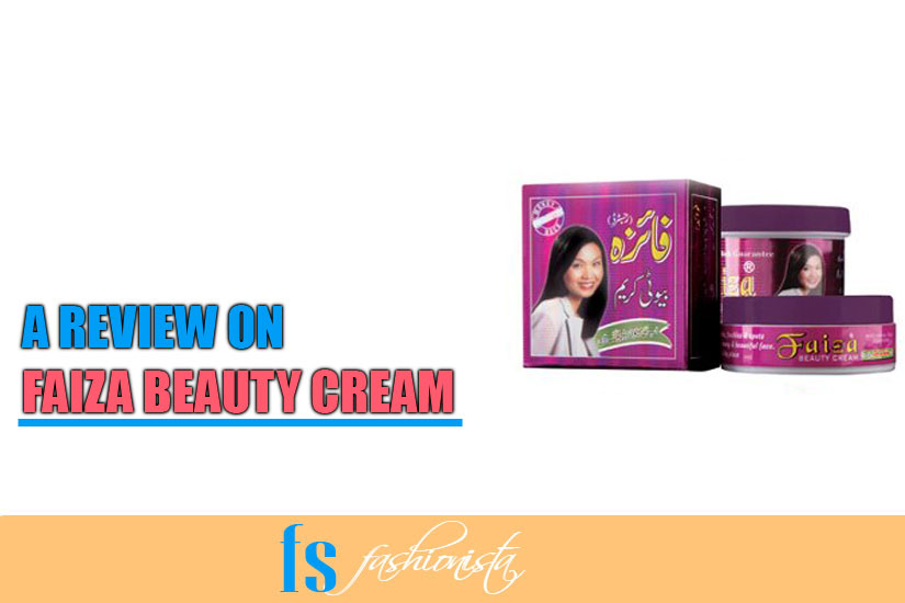 Faiza beauty cream review