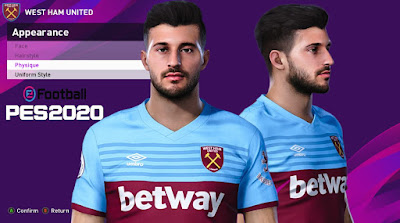 PES 2020 Faces Albian Ajeti by Rachmad ABs