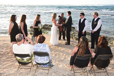 Waiale'e Beach Wedding