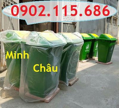 Thùng rác nhựa 60l, thùng rác nhựa 60 lít, thùng rác 60l nắp đạp chân, thùng rác 60l nắp bập bênh, thùng rác 60l có bánh xe, 0