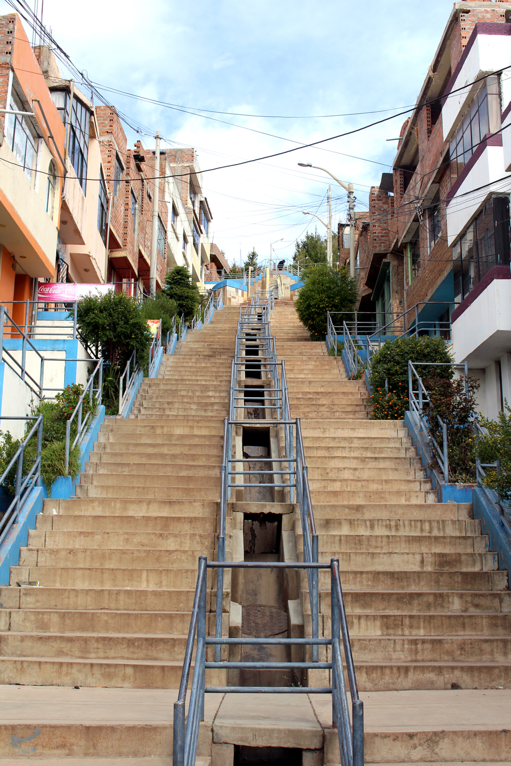 Steps in Puno, Peru - travel blog