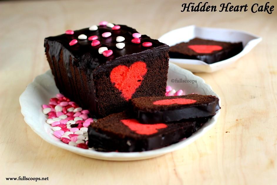 Hidden Heart Cake Tin