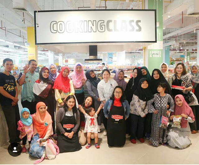 demo masak bonanza bersama Mom Blogger community