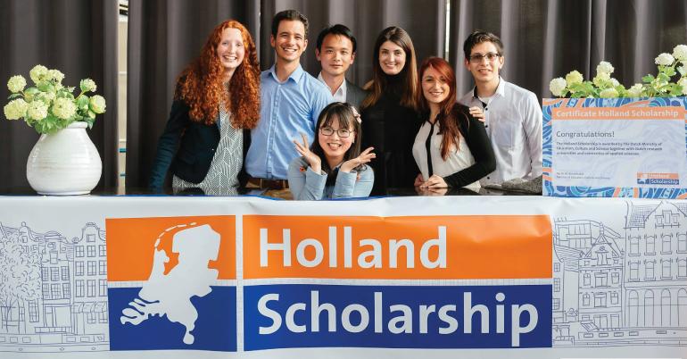 Holland Scholarship 2019 lên tới €5,000