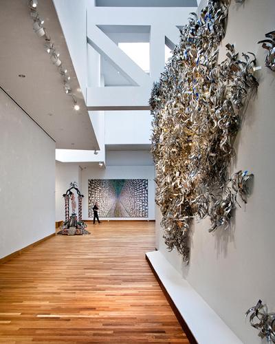 Bonita imagen interior del interior de una de las Galerías de Arte del Museo de Arte Weisman