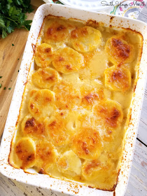 Super Easy Scalloped Potatoes