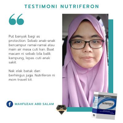 testimoni nutriferon untuk kuatkan imun
