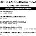 Horário de ônibus I30 CAMPO LARGO / BALSA NOVA 2020
