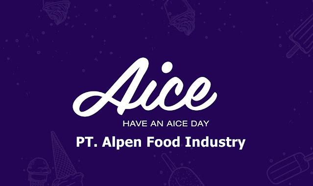 Lowongan Kerja PT Alpen Food Industry (Perusahaan Ice Cream)