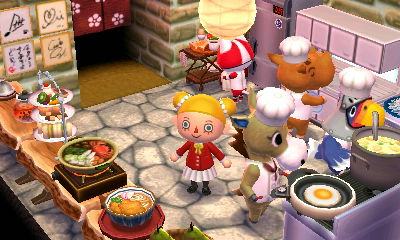 Anyhow, Isabelle And I Are Here Setting Up A New Restaurant, Kitchen And  All.