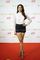 Pragya Jaiswal in lovely Black Mini Skirt and White Transparent Shirt ~  Exclusive 079.JPG