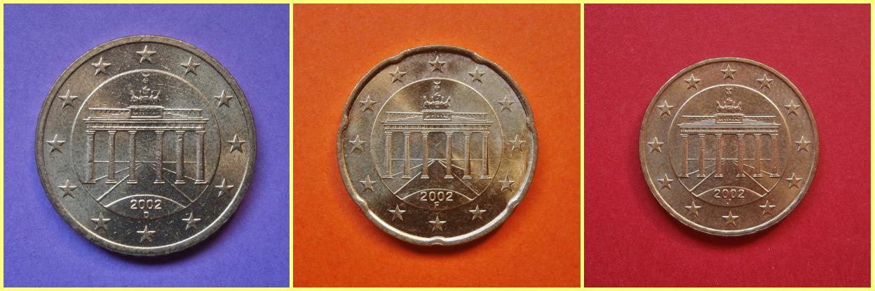 50 20 10 centimos alemania