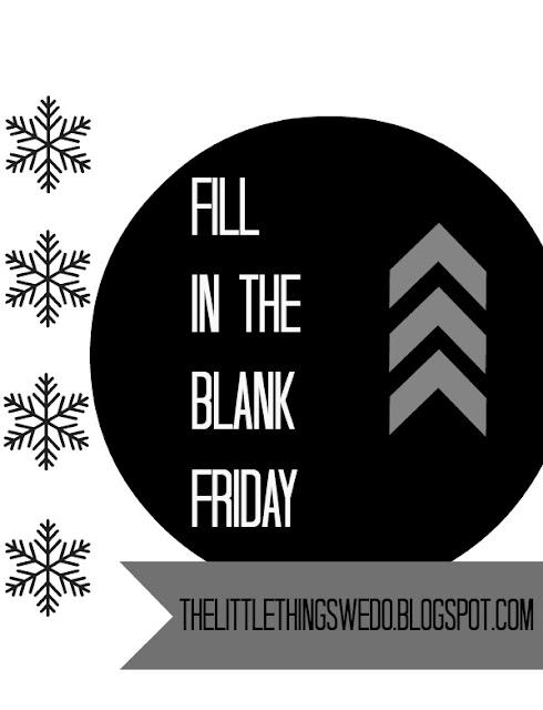 Fill In The Blanks - 30th November